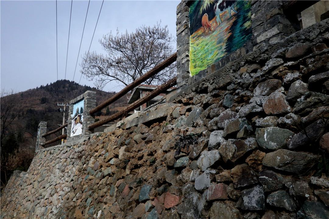 嵩县黄庄手绘小镇