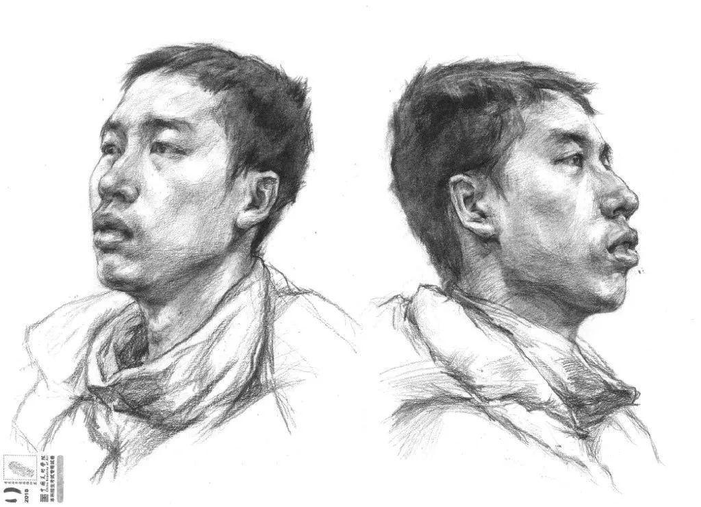 中国美术学院2018素描高分卷图片