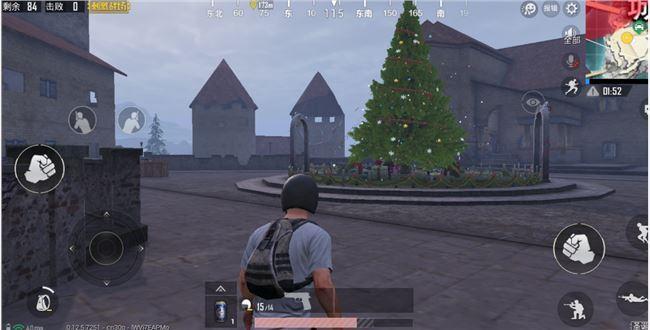 绝地求生刺激战场圣诞树在哪 全部六棵圣诞树位置坐标一览