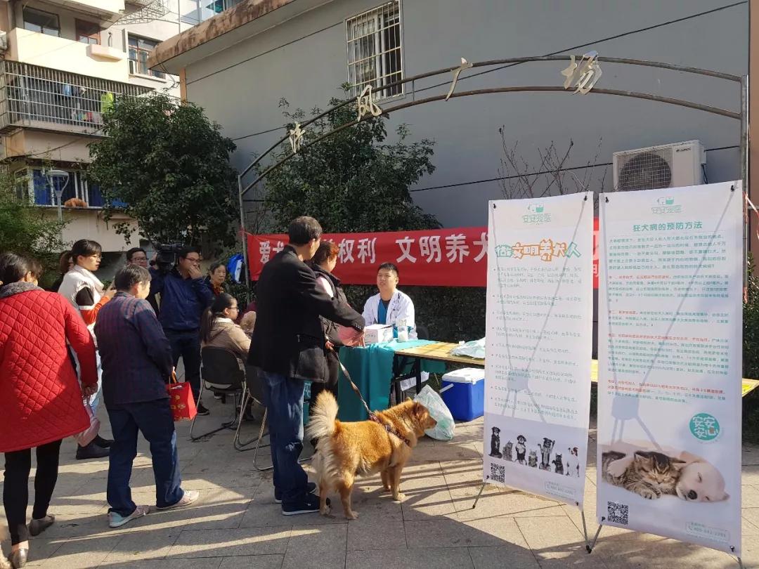 安安宠医走进宁波明南社区,倡导文明养犬