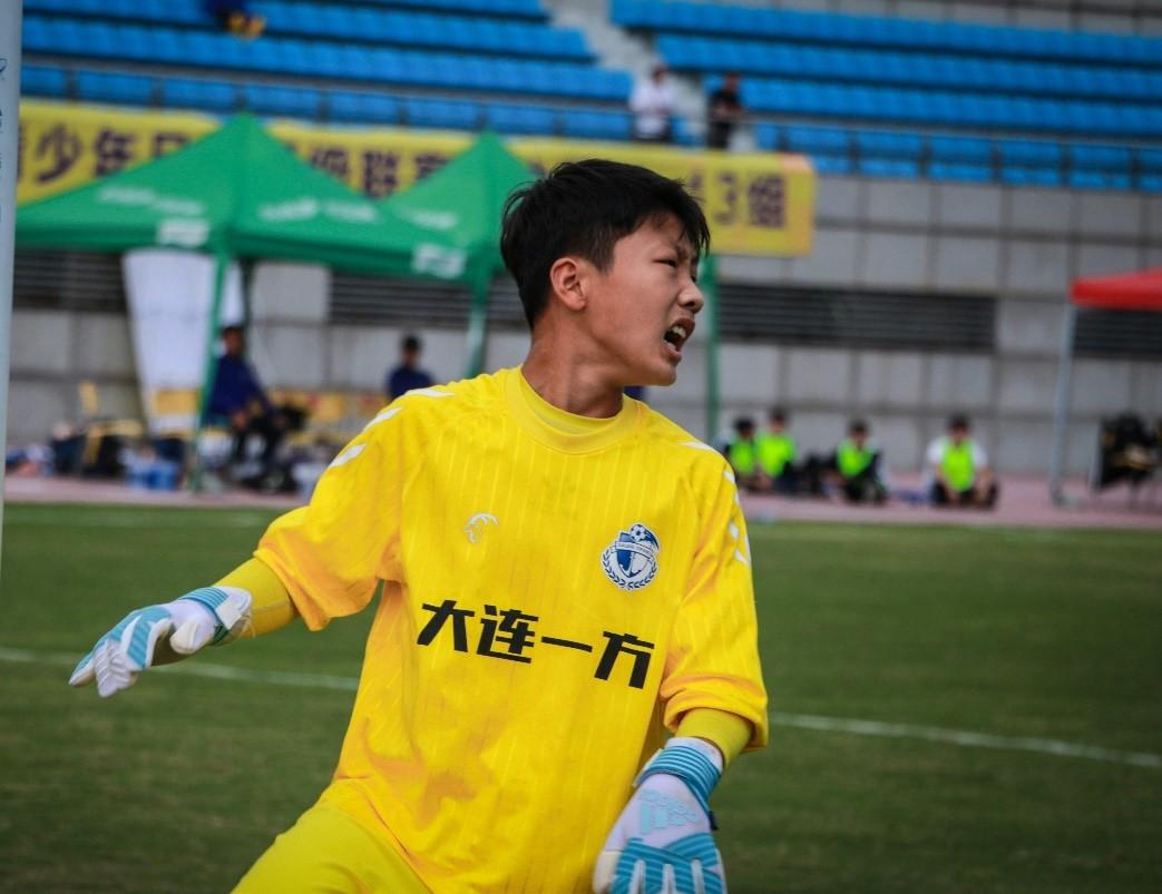 梅程富:做个有文化的足球人U13最佳守门员