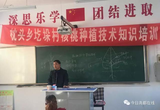 尧都区委宣传部扶贫工作队邀请专家开展核桃树种植技术培训