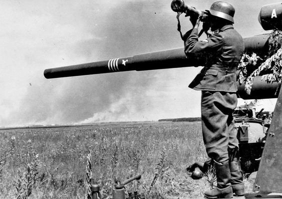 高射炮平射残忍的战场开罐器
