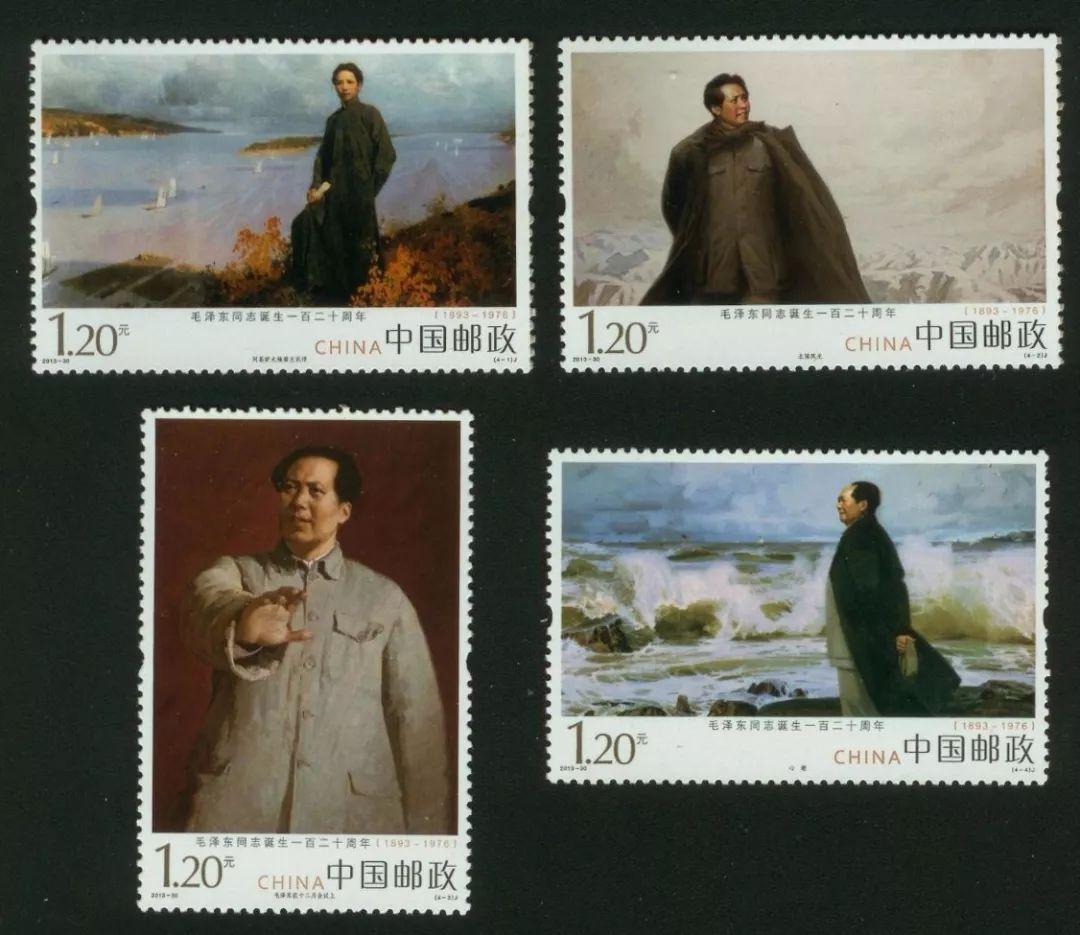 邮票作为一种见证历史的艺术品,特别是毛主席形象的邮票,以丰富翔实的