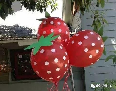 幼儿园创意气球手工,吊饰美爆了!图片