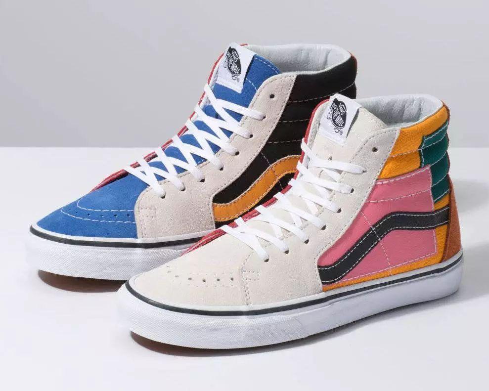 vans新款丨穿上这双鞋你就是街上最靓的仔