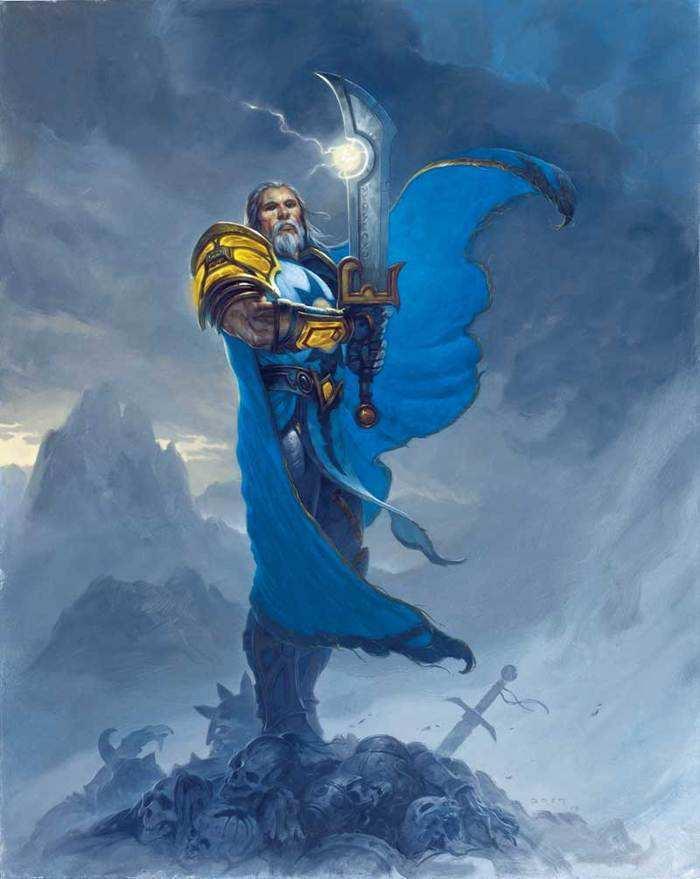 炉石八卦故事:提里奥・弗丁曾被以叛国罪起诉并剥夺圣光之力