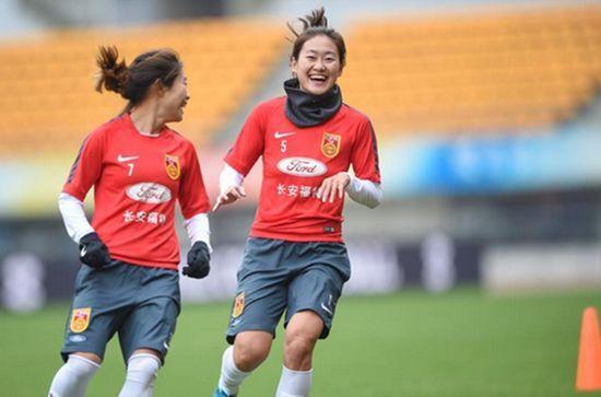 女足队长吴海燕:世界杯不想留遗憾对分组满意