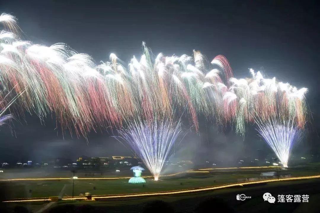武汉周边最浪漫的跨年烟花晚会,带上心爱的ta出发吧图片