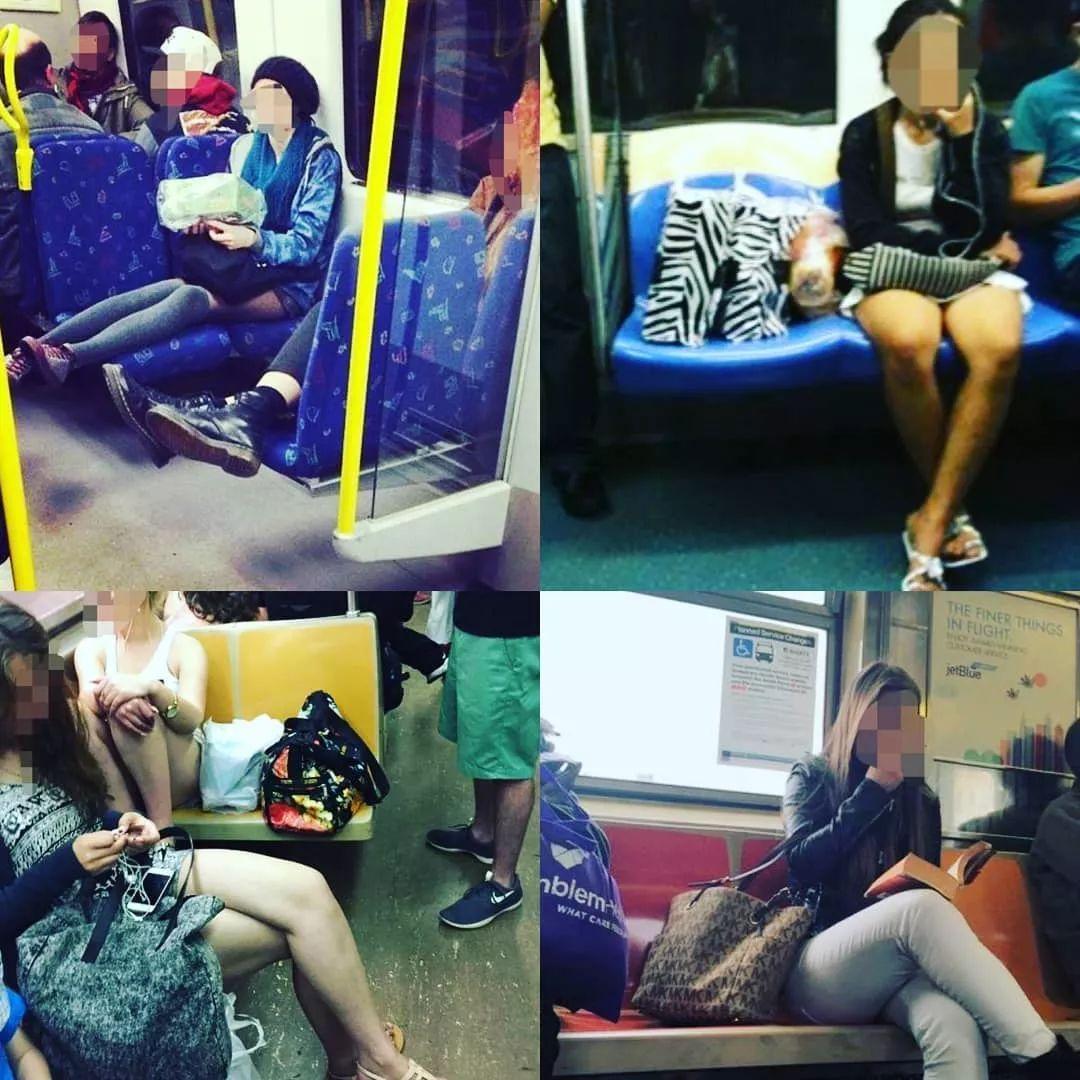 男人坐地铁不能张开大腿 欧美人民快打起来了