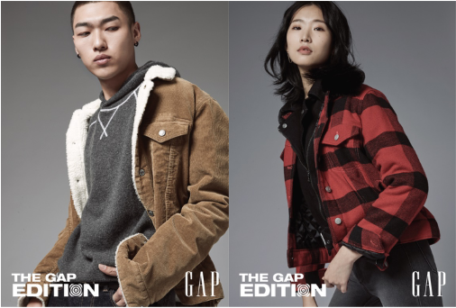 "Gap推出全新THE GAP EDITION系列,陪你""潮""过新年"