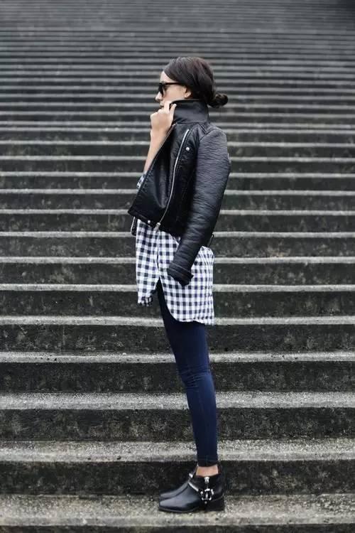 短款外套搭配參考,讓你的時尚與眾不同 形象穿搭 第23張