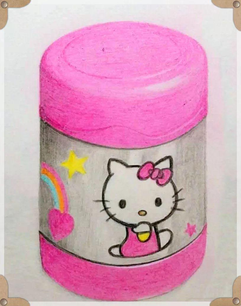 小年糕绘画训练营美图集锦,彩铅作品如此灵动传神