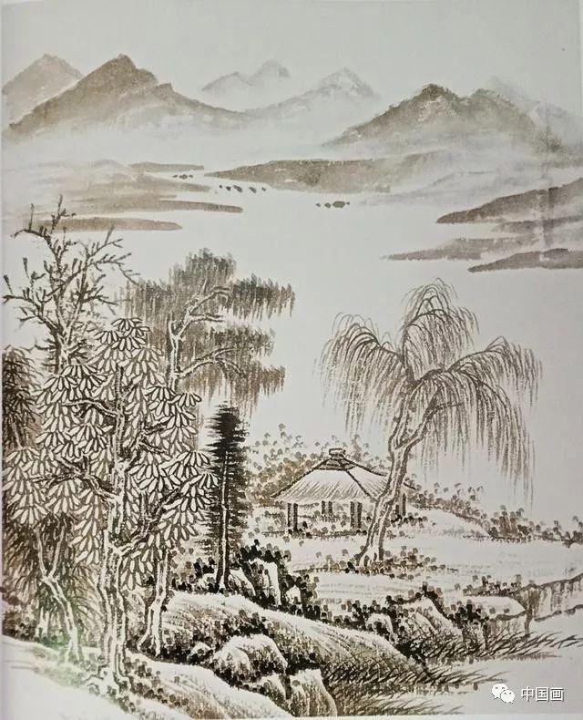 【国画知识】山水画中点景的画法 你会哪几种?