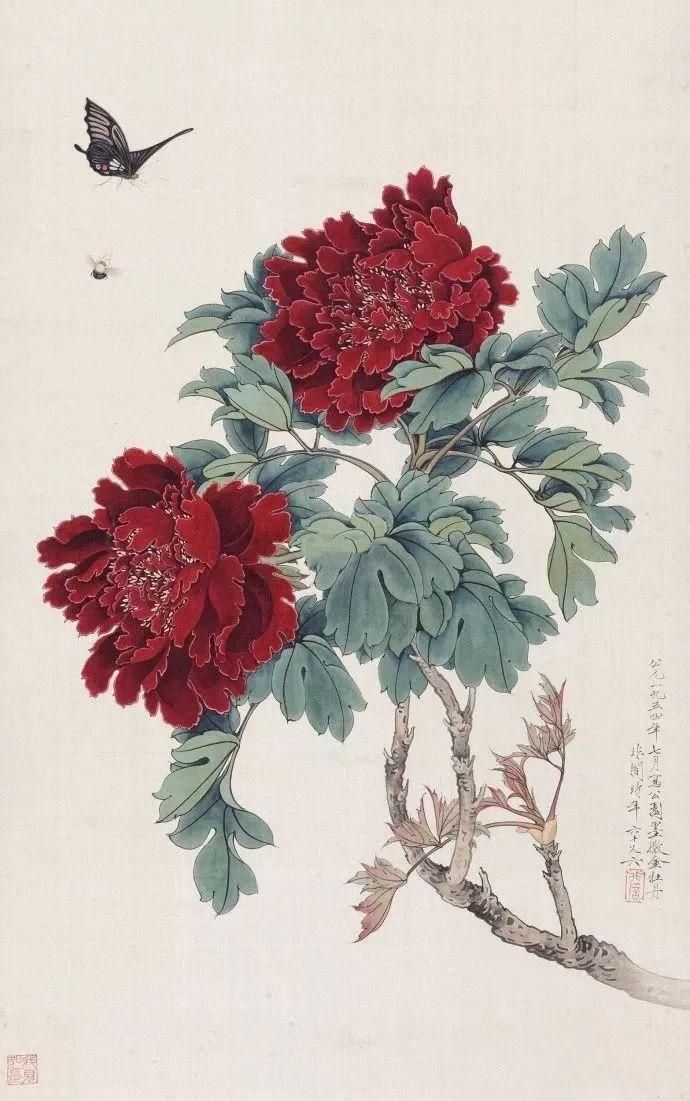 十大名家堪称一绝的花儿,漂亮