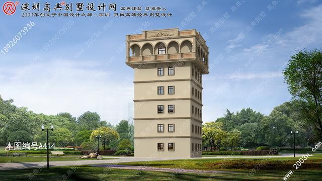 农村自建房设计图首层130平方米小别墅外观效果图