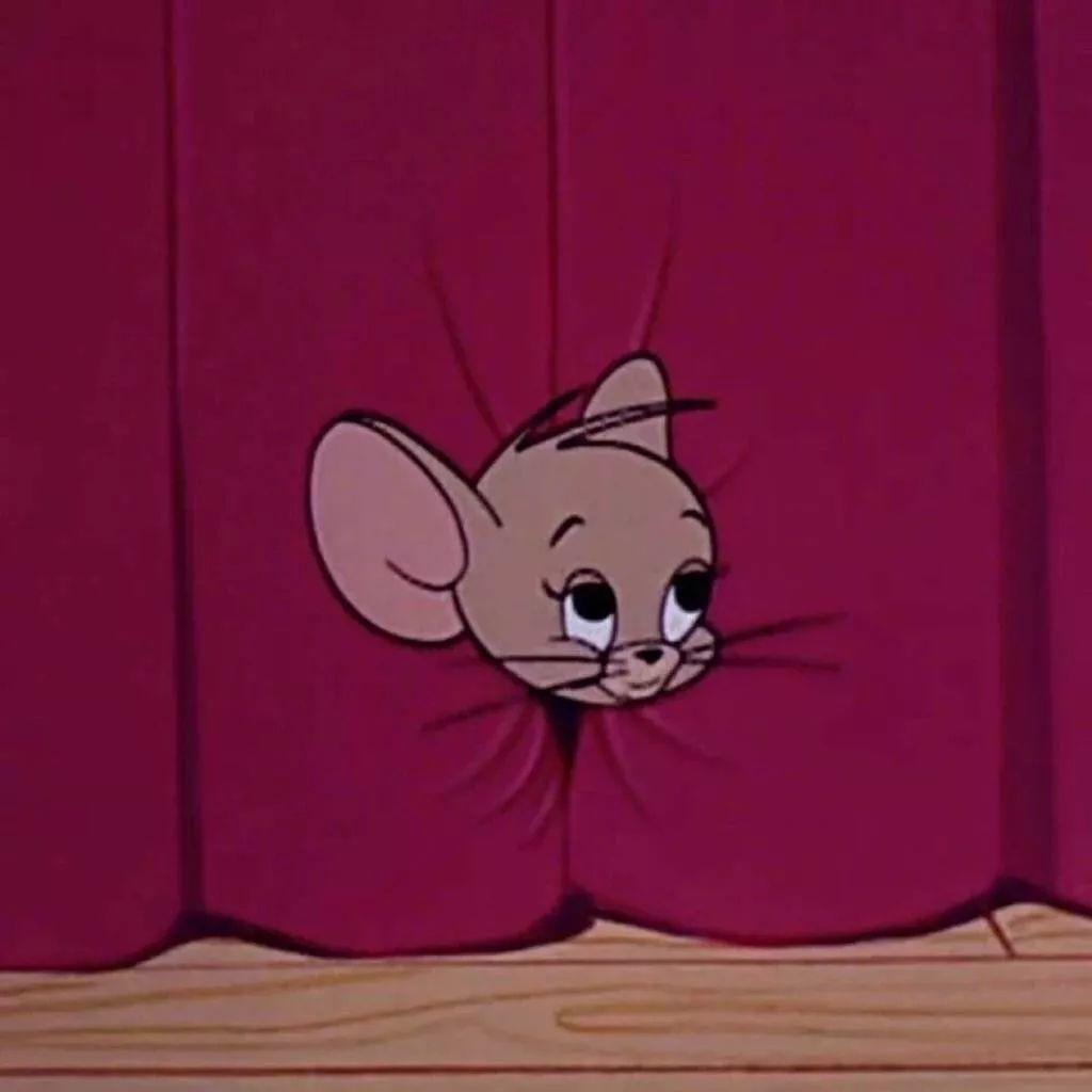 杰瑞鼠可爱表情包_手机搜狐网