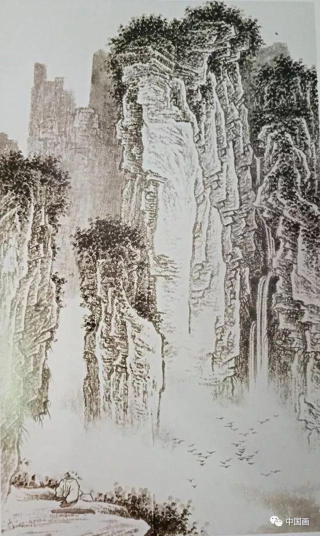 山水画中点景的画法 你会哪几种?