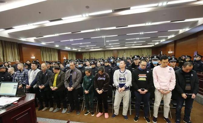 上蔡黑社会团伙_桂林最大黑社会团伙已宣判!横行16年,38人领刑,判决书