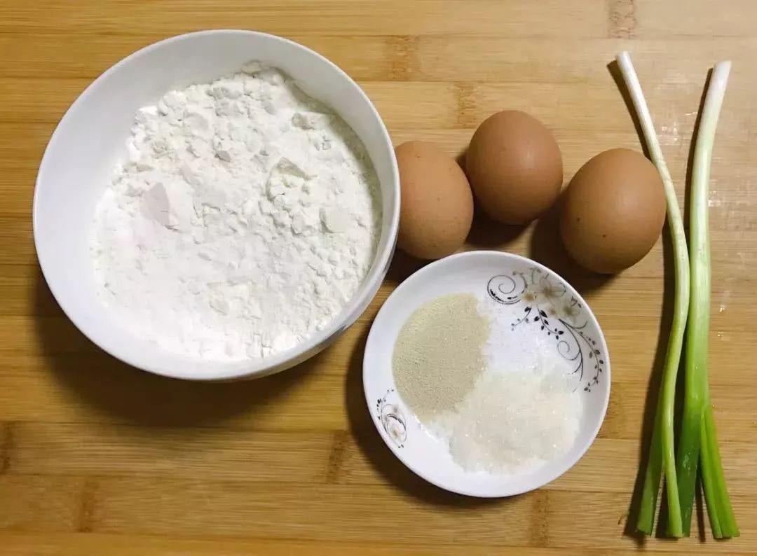 发面饼最好吃的做法,不揉面不擀面,筷子一搅,3分钟出一锅图片