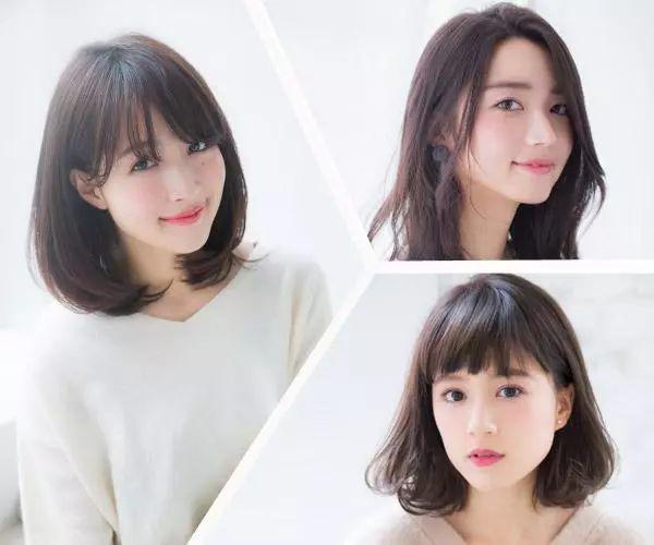 2018流行的短发和中长发图片
