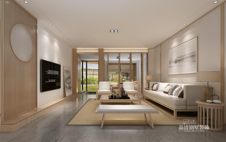 无锡别墅装修|307清新素雅简约朴素的日式风