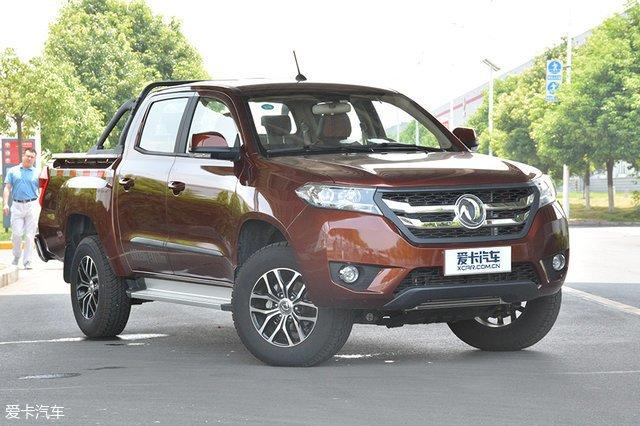 新款东风玉峰P16汽油版已上市,售价8.18万元