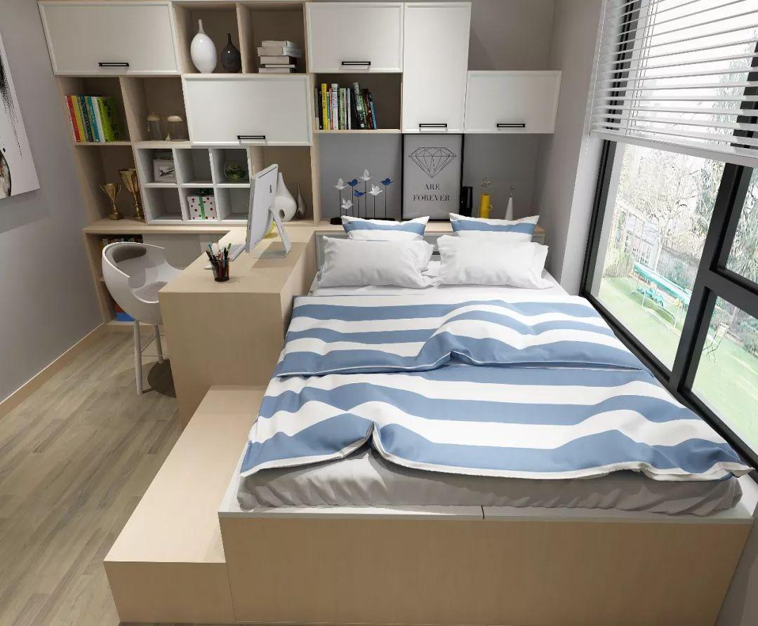 长方形卧室家具摆放应该怎么摆?