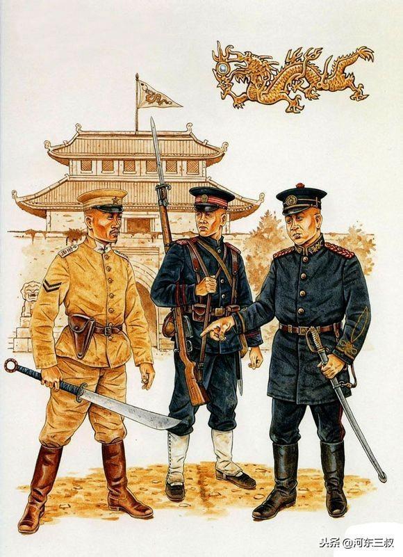 军阀混战时代,各式军队服饰及单兵装备图解