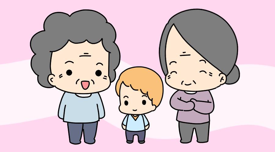 奶奶更亲还是姥姥更亲 这个男孩的回答,让全家的人都点赞