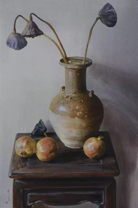 湖北美术学院教授刘寿祥水色韵味作品欣赏!水彩画图片