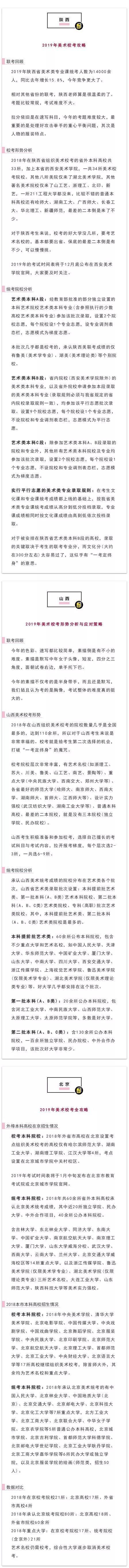 2019艺考寒冬,独家解析教育部2019年艺术类招生政策!