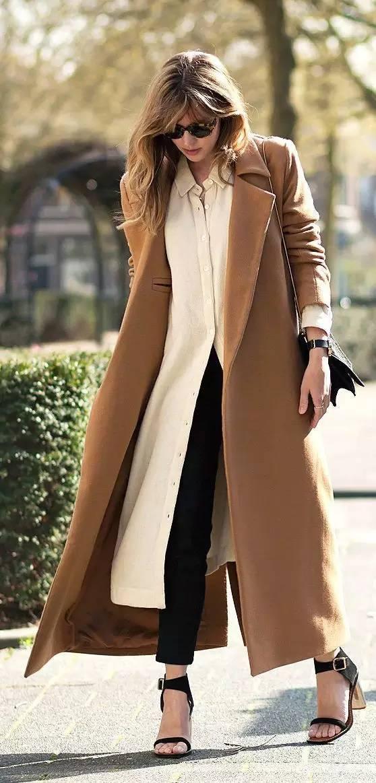 搭配 | 駝色大衣與他,怎麼搭都不錯 形象穿搭 第2張