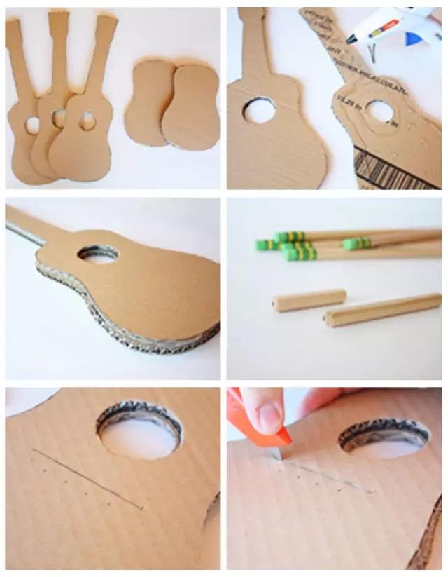 幼儿园16种乐器diy手工制作及新鲜玩法 ,太棒了!