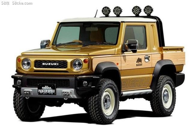 铃木汽车吉姆尼_铃木公布两款吉姆尼概念车 已开启预定_整车