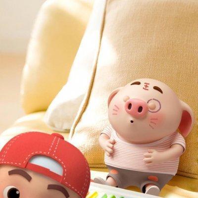 2019猪年头像可爱卡通图片 吉祥猪年微信头像大全--