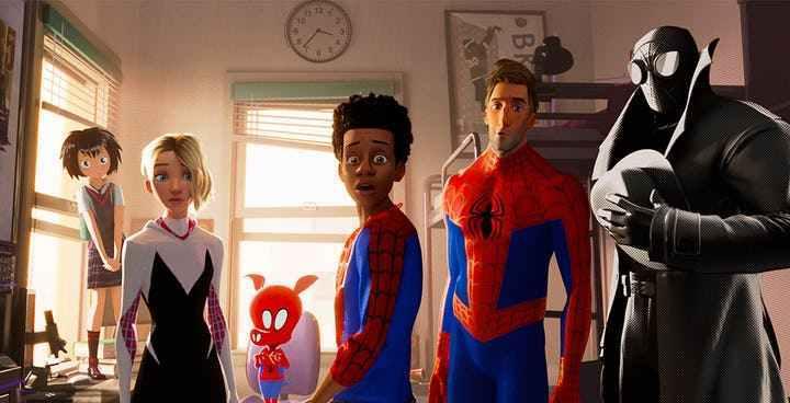 潘妮帕克后,另一个日本蜘蛛侠《蜘蛛侠平行宇宙》续集合