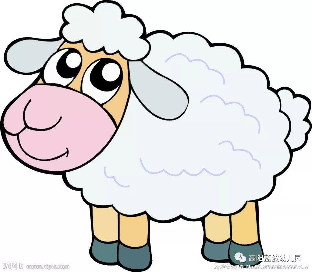 小三班班级风采 我给小羊穿冬衣