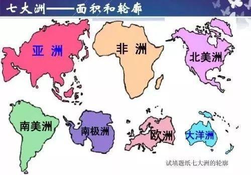 世界七大洲经济总量_世界地图七大洲四大洋