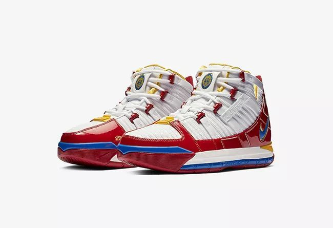 "Nike LeBron 3 ""Super Bron""  货号:AO2434-100 超人战靴"