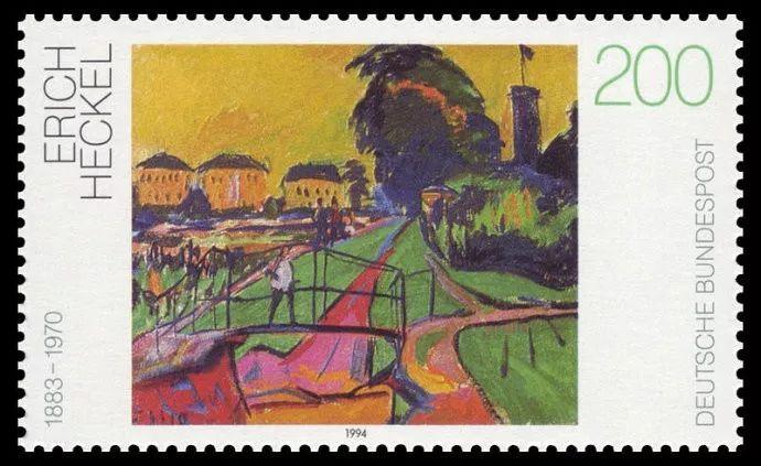 西方艺术介绍――德国表现主义画家埃里希・赫克尔