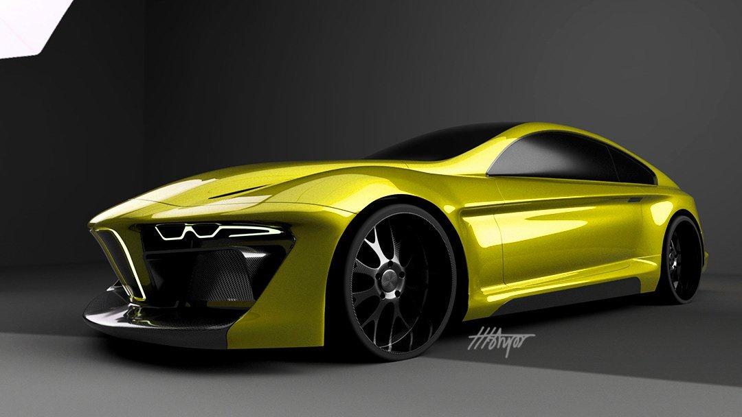 宝马欲造混合动力超级跑车竞争兰博和法拉利