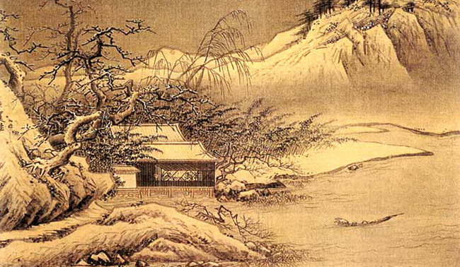 5句28个字,一幅绝妙冬景图 读白朴小令 天净沙 冬