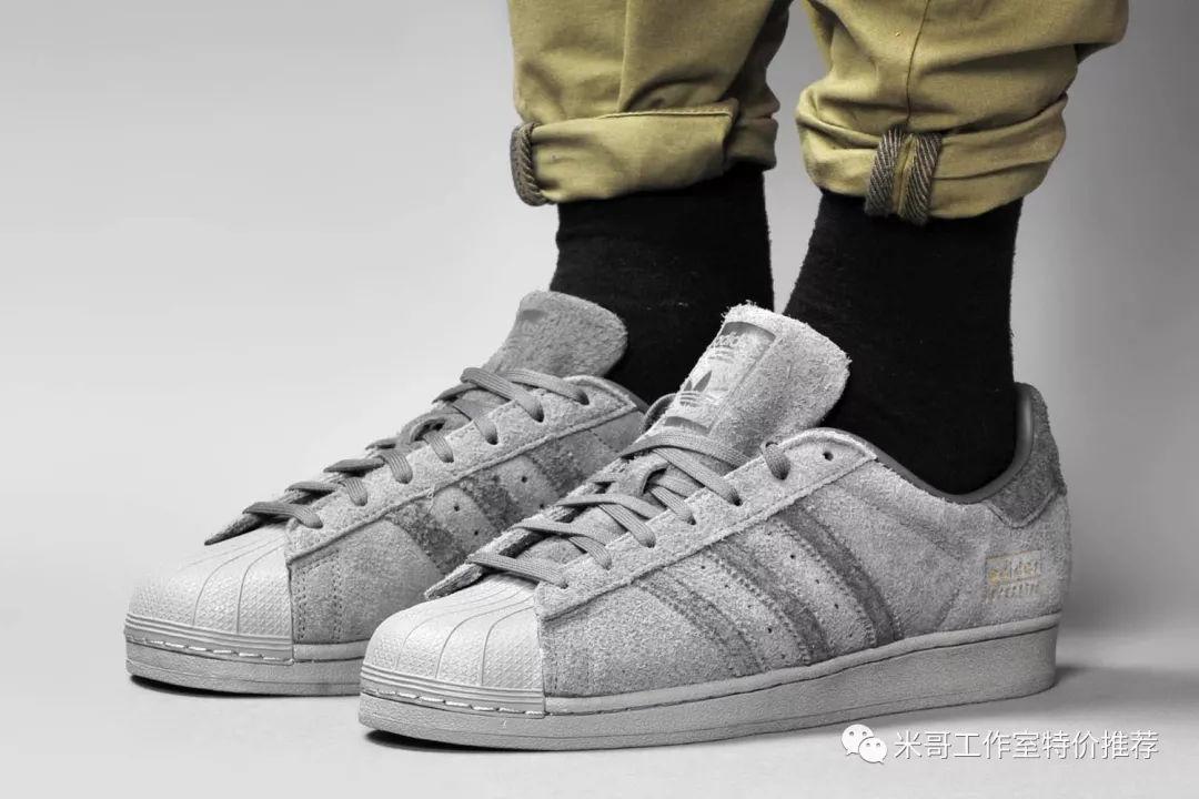 三叶草冬季新品Adidas superstar贝壳头经典百搭休闲运动板鞋图片
