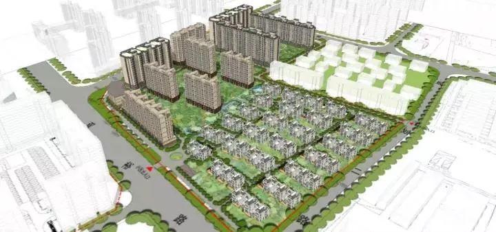 顺义区规划图19街区