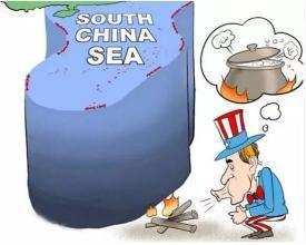 做美梦可以,但南海不是无主之地,任何国家休要撒野!