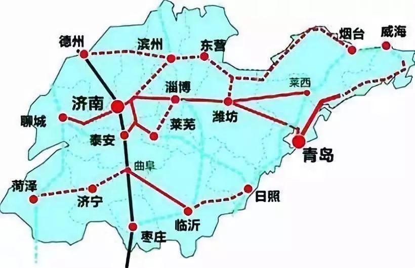 菏泽规划图2030