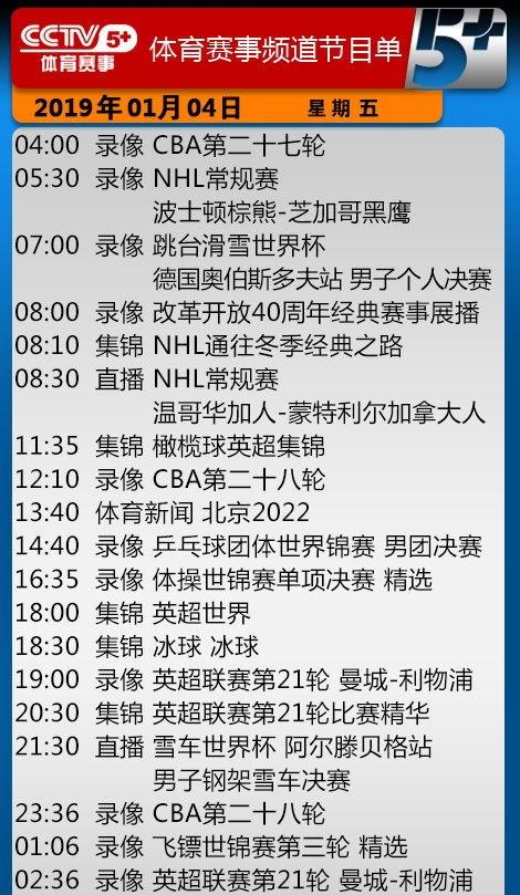 央视今日节目单 CCTV5直播NBA猛龙vs马刺+CBA辽篮战北控冲17