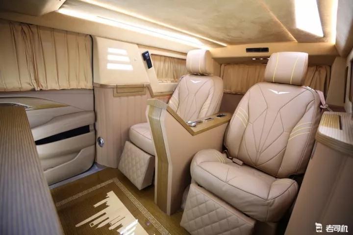 智汇舒车房车俱乐部-凯迪拉克总统一号体验极致的奢华