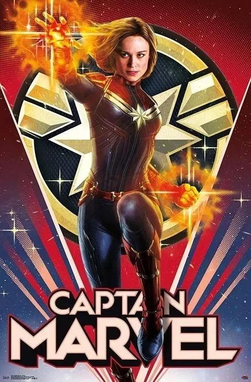 诚信在线娱乐影评:《惊异队长》再出新海报,透露橘猫的星座!